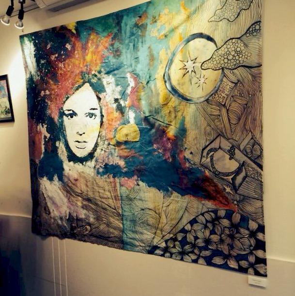 Kizu Takami's personal artworks