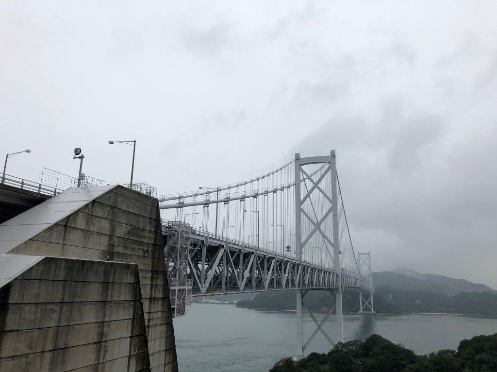 Huge metallic bridge
